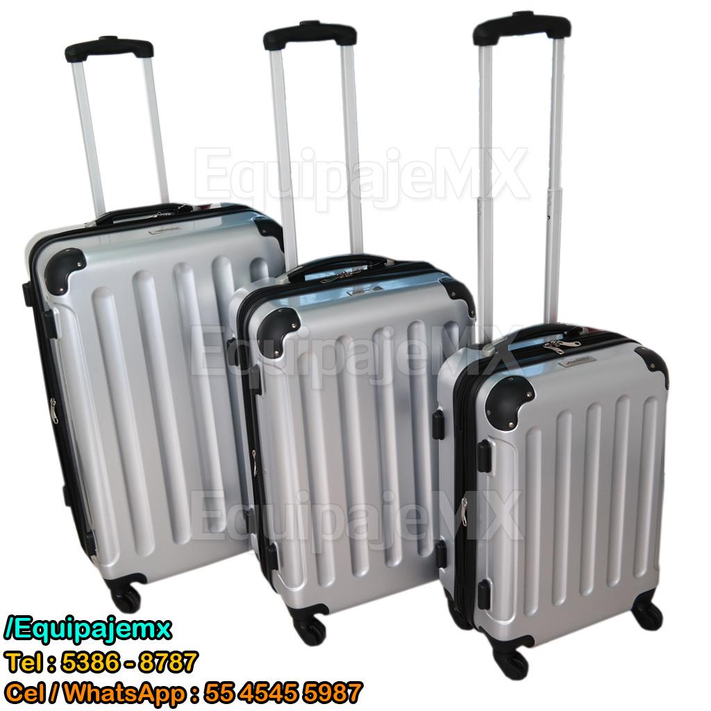 27cca505e CHEL3-PL / SET – JUEGO DE 3 MALETAS 27, 23 Y 19 PULG. TSA / $4,799.00
